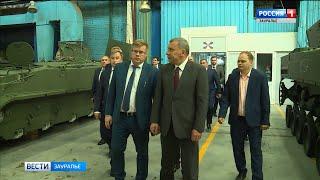В Кургане побывал зам. председателя Правительства РФ Юрий Борисов