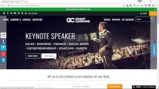 Grant Cardone - Free SEO and Copywriting Audit