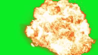 Explosion green screen mp4 download free | toMP3 pro