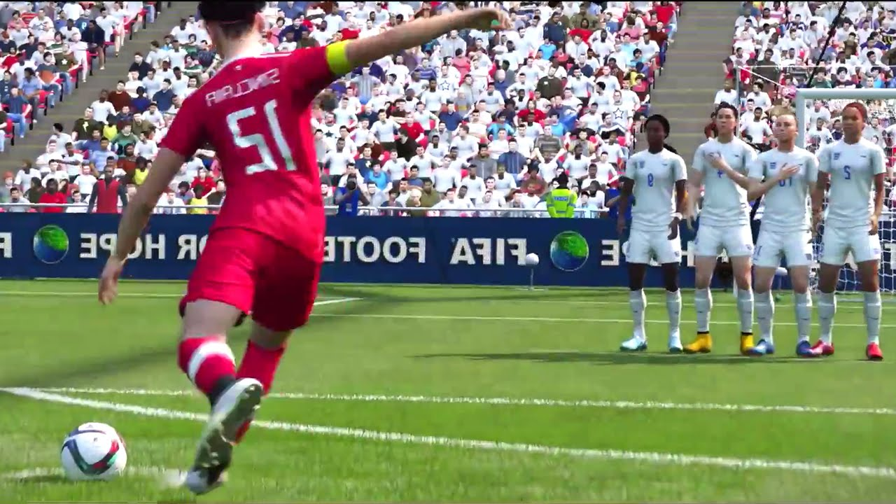 FIFA 16 – Women's National Teams Trailer #VideoJuegos #Consolas