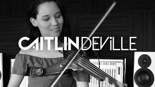 Hey Ma (Pitbull & J Balvin ft Camila Cabello) - Electric Violin Studio Cover | Caitlin De Ville