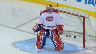 Montreal Canadiens Legends take a practice skate
