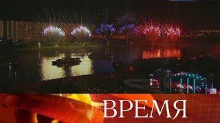 Самые известные пиротехники планеты съехались в Москву на фестиваль фейерверков «Ростех».
