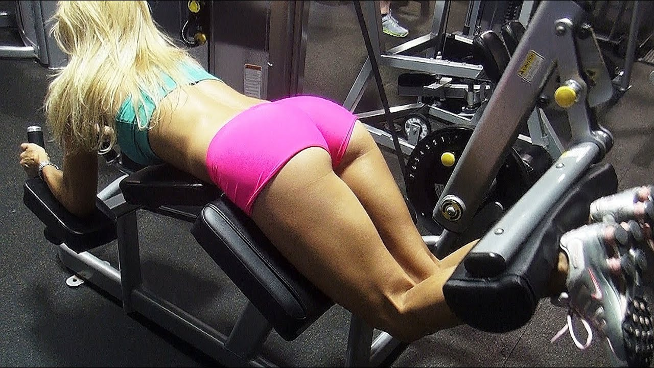 Models Butt and Legs Gym Workout Plan