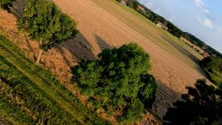 Between the fields | FPV flight footage @HD30FPS