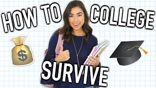 How To Survive College! - Life hacks, Tips, & Advice!