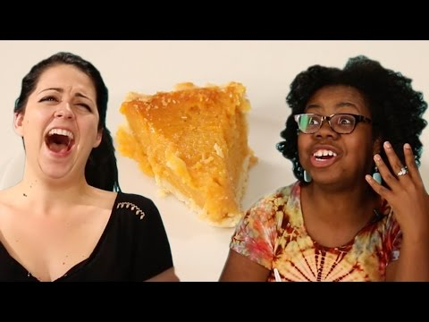 People Try Patti Labelle's Famous Sweet Potato Pie
