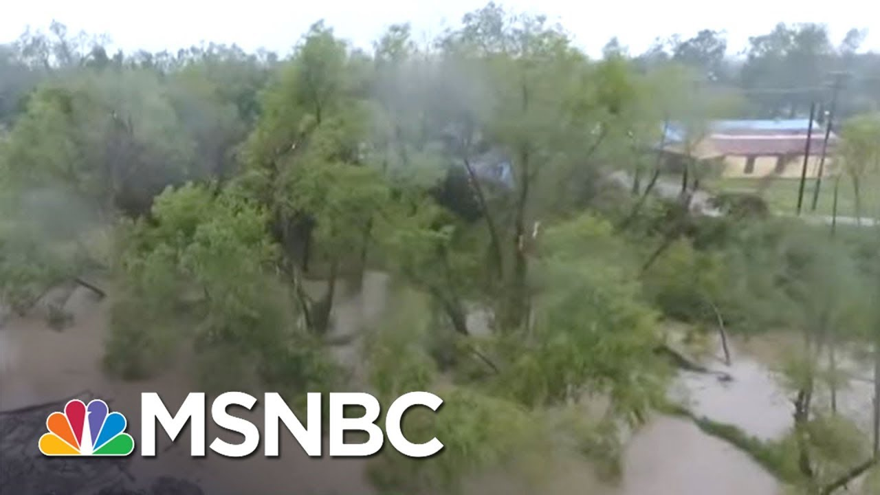 Hurricane Harvey Brings Catastrophic Flooding To Houston Area | MTP Daily | MSNBC thumbnail