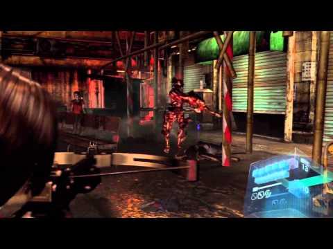 Resident Evil 6 Walkthrough Ada Campaign Crypt Puzzles Part
