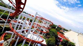 รถไฟเหาะ Sky Coaster | Vekoma Swing Turns | สวนสนุก Dream World