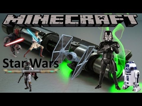 PARZI'S STAR WARS MOD - MINECRAFT 1.7.10 (MOD SHOWCASE)