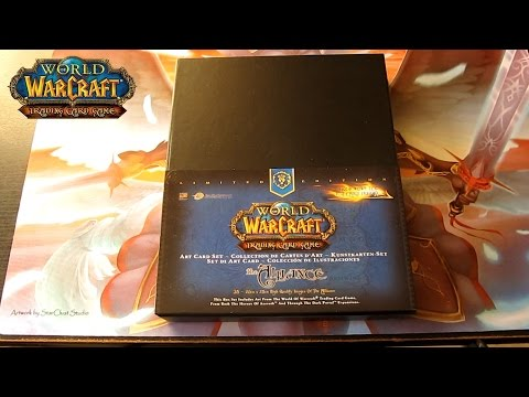 World Of Warcraft: Trading Card Game Art Card Set ( The Alliance )