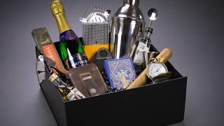 Groomsmen Gift Box, Complete Groomsman Gift Set, Luxury Gift Box, Happy Hour Gifts