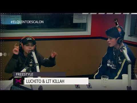 ÉPICO FREESTYLE DE LIT KILLAH Y LUCHITO - El Quinto Escalon Radio (19/10/17)