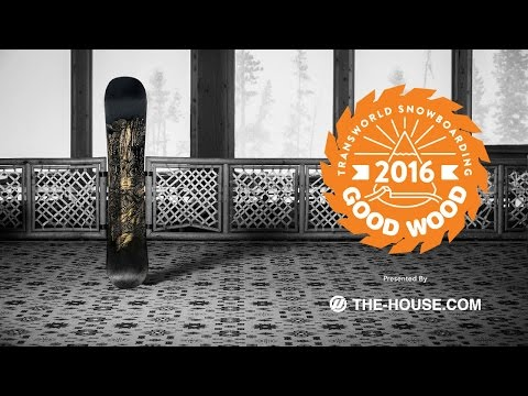 Best Men's Park Snowboards : Jones Ultra Mountain Twin : 2015-2016 Good Wood Board Test