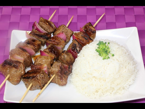 Homemade Beef Kebabs – How to Make Beef Kebabs at Home
