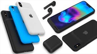 Apple слила новые iPhone 2019, AirPods 2 и 3, Smart Battery Case