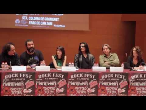 """Intervención de Miguel Ángel Rodríguez, """"El Sevilla"""", en la rueda de prensa del Rock Fest Bcn, dónde ha hablado sobre el Festival y sobre la actuación que ofrecerán en el Rock Fest Bcn."""