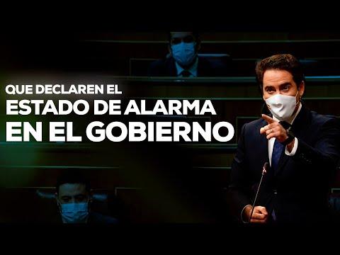 Teodoro García Egea al Gobierno: