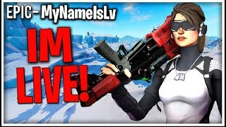 PLAYGROUND 1V1 WITH SUBS / FORTNITE LIVE STREAM / NEW CLAN / ITEM SHOP COUNT DOWN/ FACE CAM
