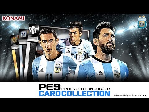 Vídeo do PES CARD COLLECTION