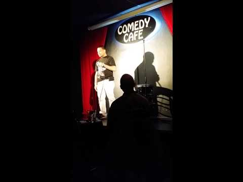 Drew Quiles Comdey cafe stand up