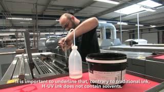 Komori H-UV, innovación en impresión offset