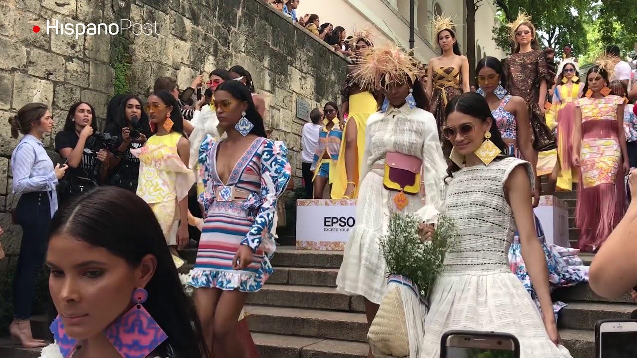 Carlos de Moya y sus mosaicos del Caribe hechos vestidos