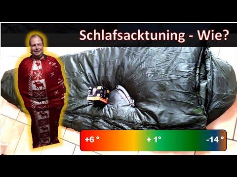 LOW Budget II Schlafsacktuning, Isomatte und Inlett selbstgebaut - MYOG - Fluchtrucksack - BOB - DIY