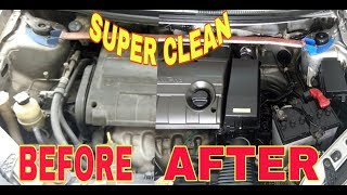 How to Clean Engine Bay wash of PROTON SAGA by Auto Strada Detailing Houz 2018