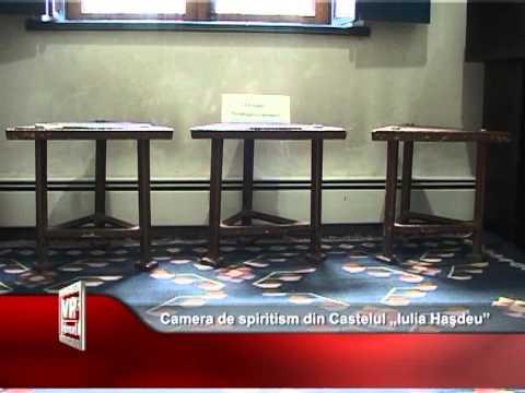 """Camera de spiritism din Castelul """"Iulia Haşdeu"""""""