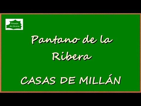 Paisajes de Cáceres: Pantano de la Ribera (Casas de Millán)