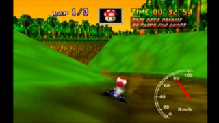 MK64 - former world record tie on D.K.'s Jungle Parkway - 42''41** (NTSC: 35''27)