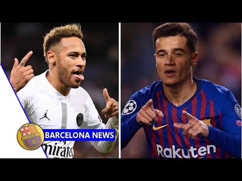 Neymar joining Barcelona looks even more likely because of Philippe Coutinho clause- Barcelona ne...