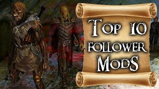 Top 10 follower mods for Skyrim on PS4