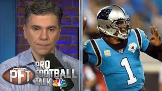 Workouts show Cam Newton's 'dangerous when healthy' | Pro Football Talk | NBC Sports
