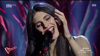 Alma Boiangiu - Wicked Game   Vocea Romaniei 2018   SEMIFINALA LIVE