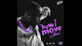 FLIPP DINERO   HOW I MOVE FT. LIL BABY (SLOWED)
