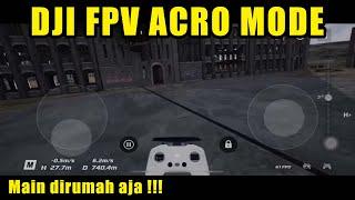 FPV drone acrobatic manoeuvres