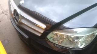 Mercedes C Class W204 Rear Seat Belt Engaged - Самые лучшие