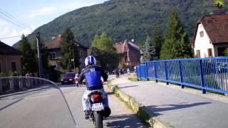 preview picture of video 'SuperStanley9 - motojazda v obci Plešivec - 15.06.2013.'