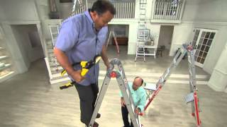 Little Giant 24-in-1 17' Ladder with Work Platform and Wheels with Kerstin Lindquist