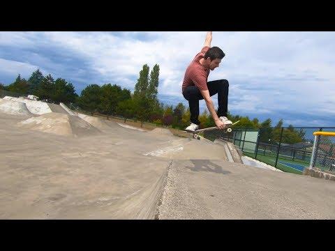 Sequim WA skatepark! HAPPY SKATING 4K