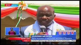 Mgombea ugavana wa Nyeri-Patrick Maina Kairo achagua Bi. Njeri Muhara kama mgombea mwenza