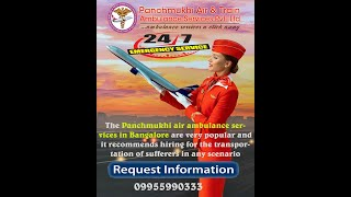 Low-Cost Air Ambulance Service in Bangalore and Mumbai – Panchmukhi