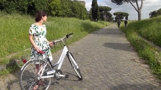 preview picture of video 'A Bike Ride on Rome's Via Appia Antica'