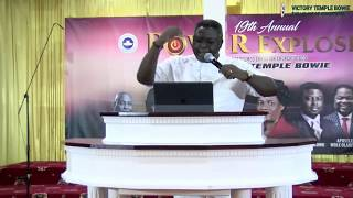 POWER EXPLOSION 2018: Pastor Matthew Ashimolowo - Lifted by the Covenant of Grace