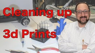 How to Clean Up 3d Prints
