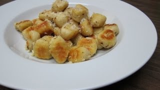 Phil Cooks - Crispy Pan Fried Gnocchi Recipe