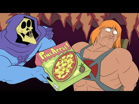 Pizza vs He-Man